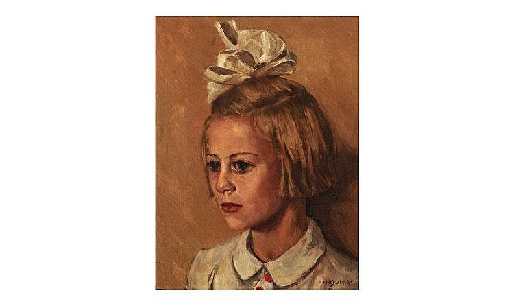 Lambertus Johan Camphuis 1917 - . Portrait of a