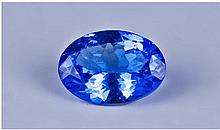 Loose Gemstone, Oval Cut Tanzanite, Approx