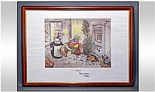 Carl Giles Signed Limited Edition Framed Print