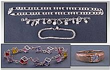 Collection Of White Metal Jewellery. To Include