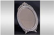 A Fine Quality Large Oval Shaped and Ornate