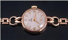 Rolex Tudor 9ct Gold Manual Wind Ladies Wristwatch