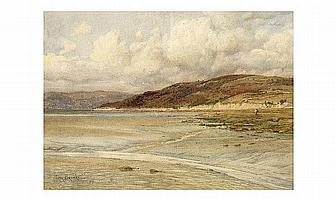 """Percy Brook Title """" A Corner in Morcambe Bay"""""""