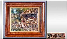 John Falconar SLATER (1857-1937) Oil On Panel,