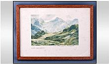 William Heaton Cooper (1903-) Scafell From