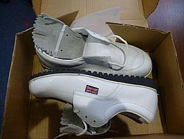 Pair of Golfing Trainers, size 7, boxed