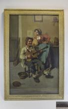 M Falero Painting, Oil Early 20th Century on Canvas, Continental / Italian