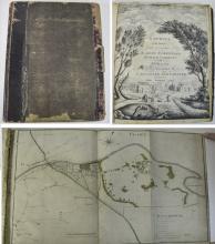 A Survey With Maps Folio Volume John Trafford Esq, Surveyed By William Benn
