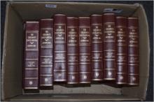 Ten volumes of The Children's Encyclopedia  originated and edited by Arthur