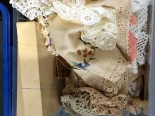 Mixed Lot Of Various Lace, Embroidery and Crochet Includes mixed crochet do