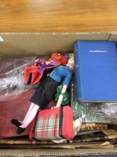 Box Of Mixed Items, Includes children's toys, maps, books etc
