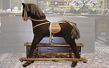 Antique Large Rocking Horse, In Overall Good Condition. Ideal Present. Heig