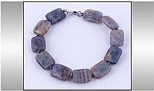 Labradorite Faceted Bead Bracelet, each