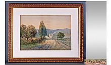 Albert Procter (1885-1904) Signed Watercolour. A