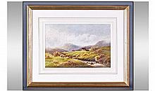 Charles Edward Brittan 1870 - 1949 Highland Cattle
