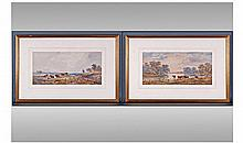 Henry Earp 1831 - 1914 Pair of Watercolours 1)