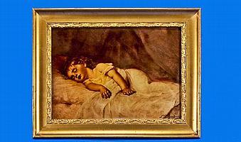 Francine Charderon (French 1861-1928). A