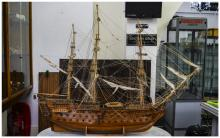 An Impressive and Large Hand Made Model of a British 19th Century - Ninety