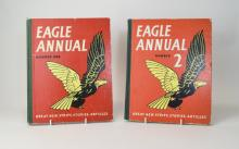 Eagle Annual Number One, Date 1951 and Eagle Annual Number Two, Date 1952.