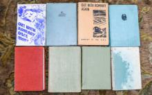 Collection Of Books, Early to Mid 20thC Mostly '' Out With Romany '' Hardba