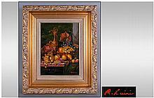 R Luini 20th Century Italian Artist, Still life