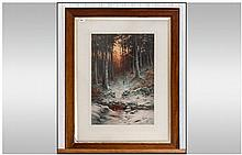 Joseph Farquharson Large Coloured Art Print Issues
