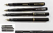 A Good Collection of Early Swan Fountain Pens ( 4