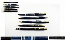 A Collection of Vintage Parker Fountain Pens ( 5 )