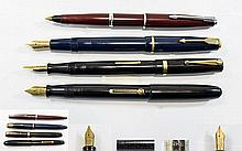 A Very Good Collection of Vintage Fountain Pens (