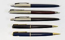 A Good Collection of Parker Ballpoint Pen and Prop