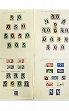 Selection of 1952 QE2'' Coronation stamp issues. S