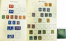 Nice Windsor GB starter stamp album with spaces fo
