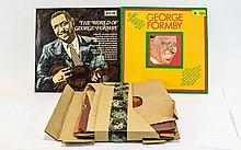 A Collection of  George Formby LP's & 78's to incl