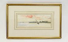 Francis E. Nesbitt 1864 - 1934 Titled ' On The Nil