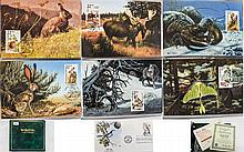 Wildlife of the 50 states - an FDC and postcard al