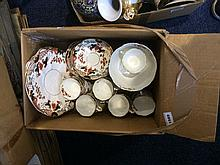 Staffordshire Pottery Part Dinner Set.