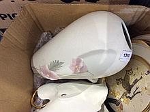Small Collection of Pottery comprising Three ''Cho