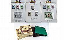 Modern Stamp Albums mostly Royalty covering the Qu
