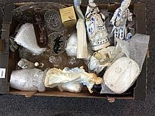 Box of Assorted Glass Ware and Ceramics including
