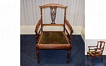 George III - Nice Quality Early 19th Century Walnu