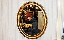 Regency Period - Nice Quality Oval Shaped Giltwood