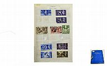 Blue York stamp album full of better stamps. Inclu