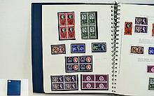 Great Britain Collecta 22 ring stamp album full of
