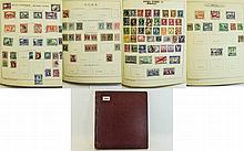 Super springback loose leaf stamp album with stamp