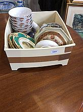 Box of Assorted Pottery.