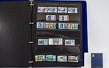 Early QE2 pre-deccimal stamps on Hagners in blue a