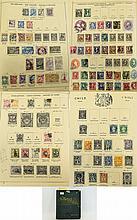 Fabulous and rare Serif's Illustrated stamp album