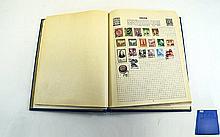 Stanley Gibbons Swiftsure spring back stamp album