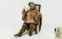 Royal Doulton Early Figurine ' The Foaming Quart '