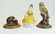 Royal Doulton Figurines. Comprises 1/ Coralie HN23